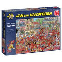 Jumbo Jan van Haasteren puzzel La Tomatina - 1000 stukjes