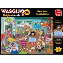 Jumbo Wasgij Original 36 puzzel goede voornemens - 1000 stukjes