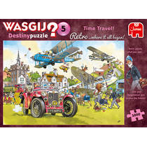 Jumbo Wasgij Retro Destiny 5 puzzel tijdreizen - 1000 stukjes