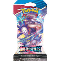 Pokémon Trading Card Game Sword & Shield Battle Styles Sleeved booster