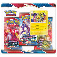 Pokémon Trading Card Game Sword & Shield Battle Styles 3-boosterblister Jolteo