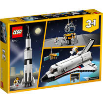 LEGO CREATOR 31117 RUIMTERAKET AVONTUUR