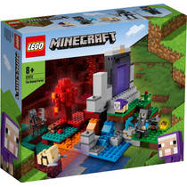 LEGO Minecraft het verwoeste portaal 21172