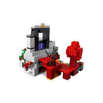 LEGO MINECRAFT 21172 HET VERWOESTE PORTA