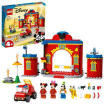 LEGO Disney Mickey & Friends brandweerkazerne & auto 10776