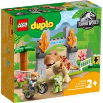 LEGO DUPLO T. rex en Triceratops dinosaurus ontsnapping 10939