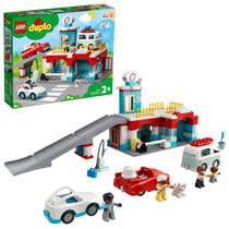 LEGO DUPLO parkeergarage en wasstraat 10948