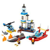 LEGO CITY 60308 KUSTPOLITIE EN BRANDMISS