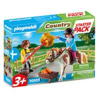 PLAYMOBIL starterpack manege uitbreidingsset 70505