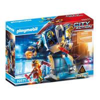 PLAYMOBIL City Action politierobots speciale eenheid 70571
