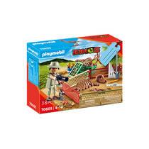 PLAYMOBIL Dinos geschenkset paleontholoog 70605