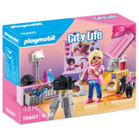 PLAYMOBIL City Life geschenkset social media ster 70607