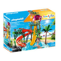 PLAYMOBIL Family Fun waterpark met glijbanen 70609
