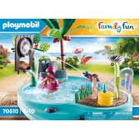PLAYMOBIL 70610 ZWEMBAD MET WATERSPLASH