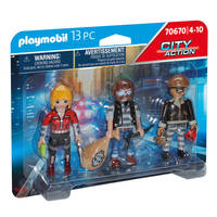 PLAYMOBIL City Action figurenset boeven 70670