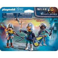 PLAYMOBIL 70671 SET 3 NOVELMORE RIDDERS