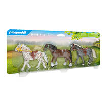 PLAYMOBIL Country 3 paarden 70683
