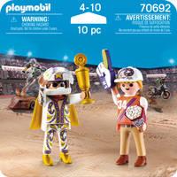 PLAYMOBIL 70692 DUOPACK STUNTSHOW-TEAM