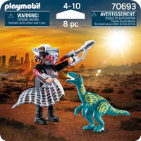 PLAYMOBIL 70693 DUOPACK VELOCIRAPTOR VS