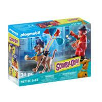 PLAYMOBIL Scooby-Doo! avontuur met Ghost Clown 70710