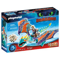 PLAYMOBIL Dragon Racing Astrid en Stormvlieg 70728
