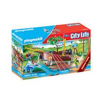 PLAYMOBIL avontuurlijke speeltuin met scheepswrak 70741