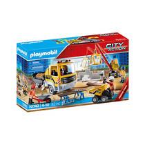 PLAYMOBIL bouwplaats met kiepwagen 70742