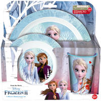 Disney Frozen 2 Blue Forest lunchset