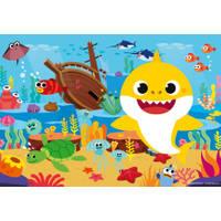 PUZZEL 2X12ST BABY SHARK ONTDEKKING