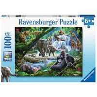 Ravensburger puzzel jungledieren - 100 stukjes