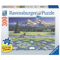 Ravensburger puzzel Quilt met hert - 300 stukjes
