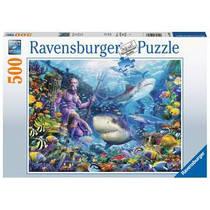 Ravensburger puzzel Heerser van de zee - 500 stukjes