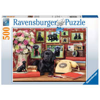 Ravensburger puzzel Mijn trouwe vrienden - 500 stukjes