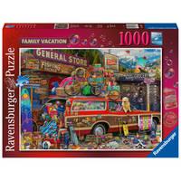 Ravensburger puzzel familievakantie - 1000 stukjes