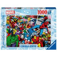 Ravensburger Challenge puzzel Marvel - 1000 stukjes