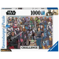 Ravensburger Challenge puzzel Star Wars Mandalorian - 1000 stukjes