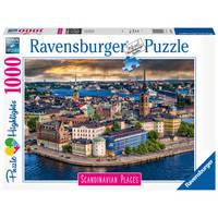 Ravensburger puzzel Stockholm Zweden - 1000 stukjes