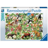 Ravensburger puzzel jungle - 2000 stukjes