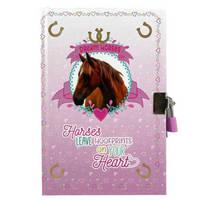 Little Concepts dagboek met slot Dream Horses