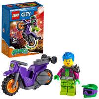 LEGO City wheelie stuntmotor 60296