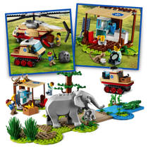 LEGO CITY 60302 WILDLIFE RESCUE OPERATIE