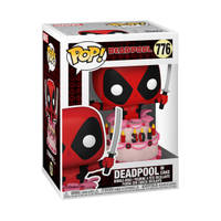 Funko Pop! figuur Marvel Deadpool 30th Anniversary figuur Deadpool in taart