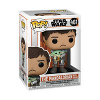 Funko Pop! figuur Star Wars: The Mandalorian draagt The Child