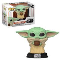 Funko Pop! figuur Star Wars: The Mandalorian The Child met kopje