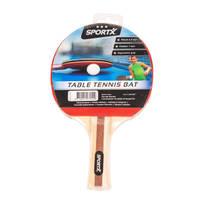 SportX tafeltennisbatje 3-ster
