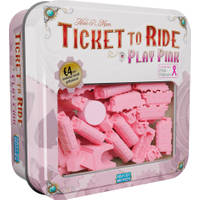 Ticket to Ride Play Pink set