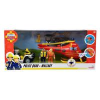 Brandweerman Sam helikopter en politiequad