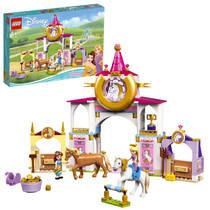 LEGO Disney Princess Belle en Rapunzel's koninklijke paardenstal 43195
