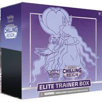 Pokémon TCG Sword & Shield Chilling Reign Shadow Rider Calyrex Elite Trainer box