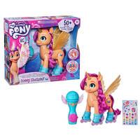 My Little Pony zingende en schaatsende Sunny